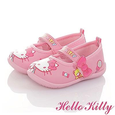 HelloKitty童鞋 輕量減壓抗菌防臭室內外娃娃鞋-粉