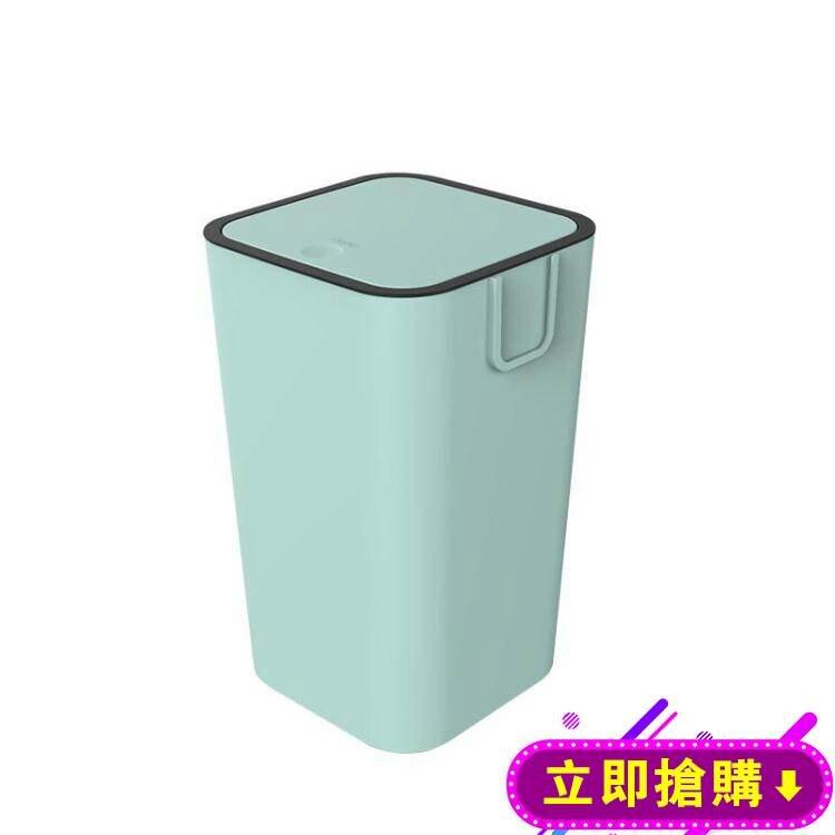 家居戀分類垃圾桶家用帶蓋北歐風乾濕分離簡約廚房衛生間客廳紙簍 下殺優惠