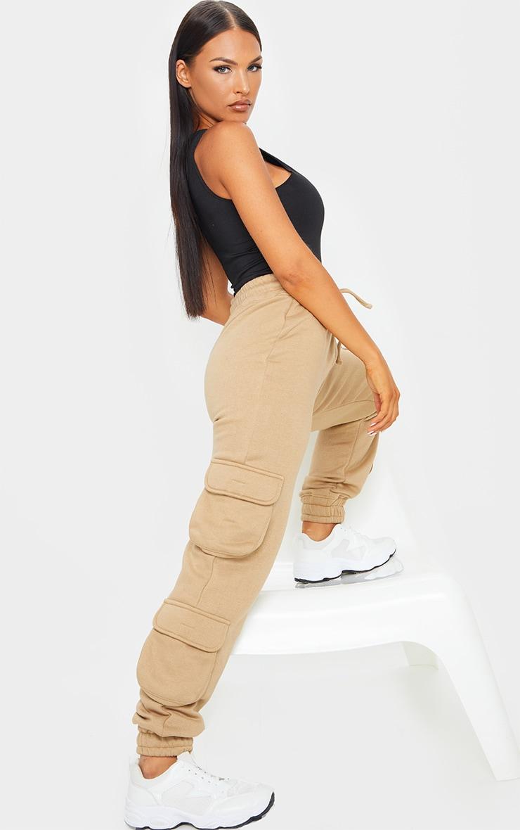 Camel Pocket Detail Track Pants