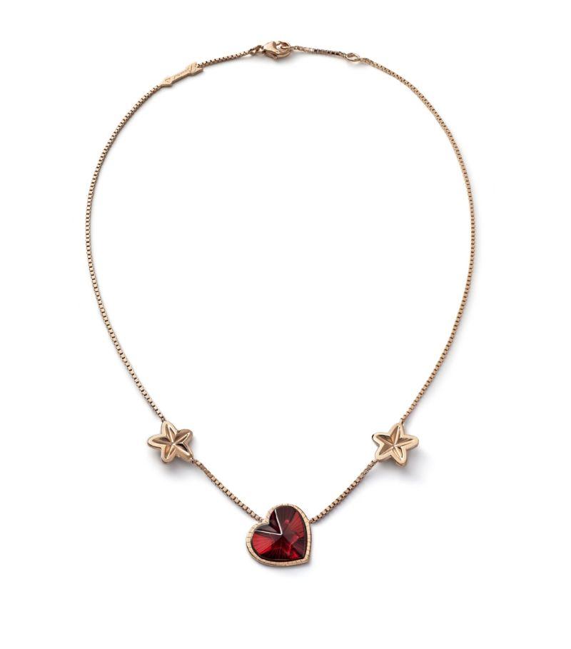 Baccarat Rose Gold Vermeil Étoile De Mon Coeur Necklace
