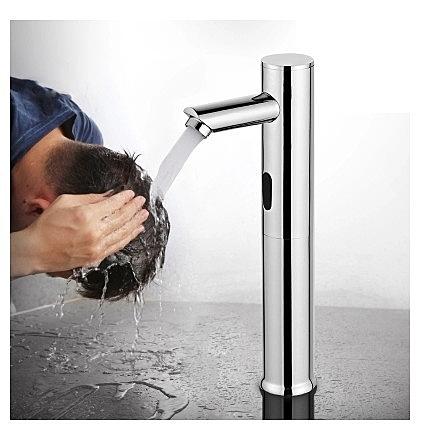 上盆全自動感應水龍頭單冷熱銅智能式面盆紅外線洗手器 【母親節禮物】
