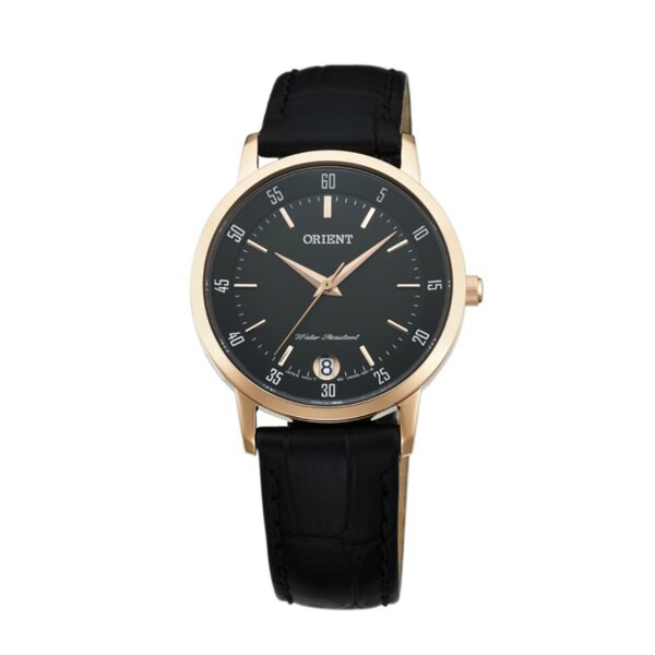 Orient 東方錶 (FUNG6001B) 閃亮女人時尚腕錶/黑面 31mm