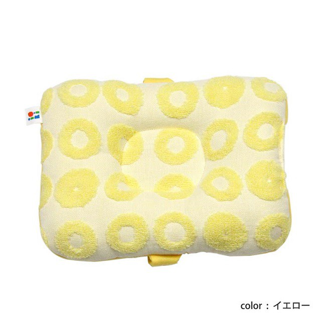 伊織甜甜圈哺乳枕/ 黃色 誠品eslite