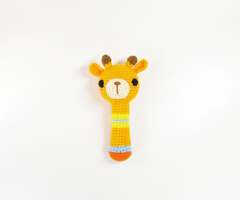 長頸鹿/手搖鈴/彌月/寶寶