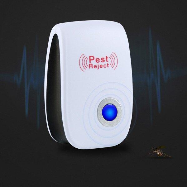 安全無害! 超聲波驅蚊器 驅蟲 驅鼠 超音波 無噪音 驅蒼蠅 阻燃材質 客廳 臥室 『無名』 Q05118