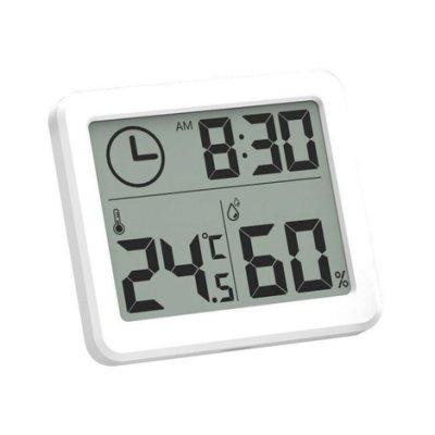 數位溫濕度計 LCD螢幕數位溫度計 數字時鐘 電子時鐘 電子鐘 數字鐘