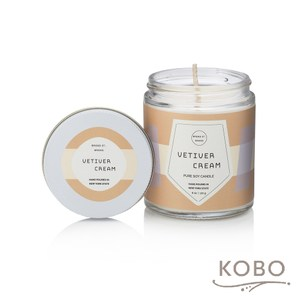 【KOBO】 美國大豆精油蠟燭-香根琥珀-170g/可燃燒35hr