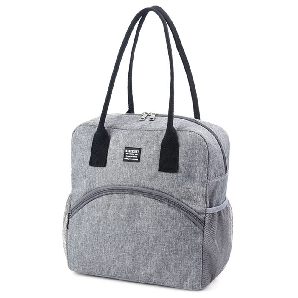 iSFun 戶外野餐 露營大容量手提保冷保溫袋 2色可選