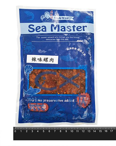 1F4B【魚大俠】FF043蘭揚海師傅辣味螺肉(200g/包)#小包裝