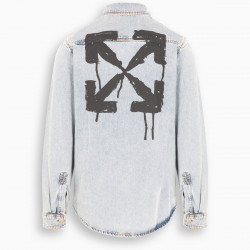 Off-White™ Stencil denim shirt