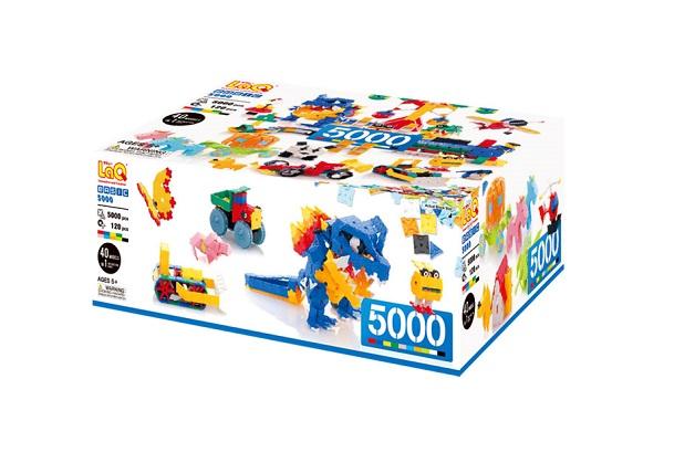 【e-child】LaQ新版超級玩家L★日本製造立體3D拼接積木/益智玩具/台灣獨家代理