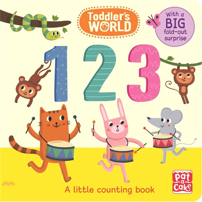 Toddler's World: 123【三民網路書店】[79折]