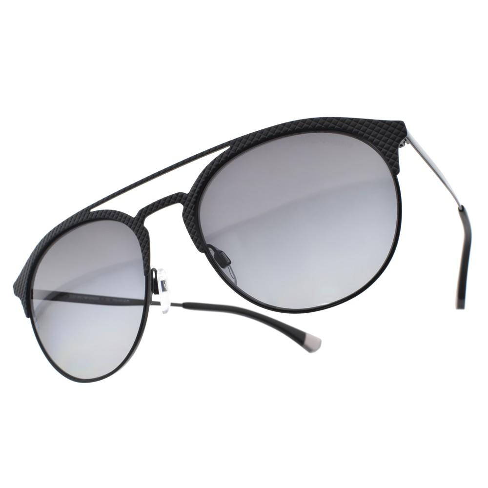 EMPORIO ARMANI 偏光太陽眼鏡 EA2052 3014T3 質感紳士飛官款 -金橘眼鏡