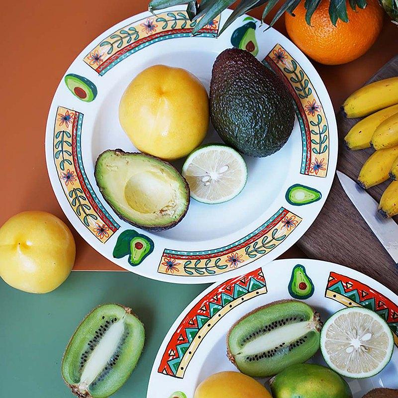 墨西哥牛油果係列 骨瓷餐盤套裝