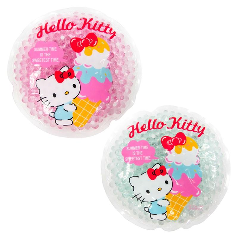 Hello Kitty圓形造型保冷劑兩入一組/保冷效果/外出攜帶/今日最便宜/貨到付款/現貨/禮物
