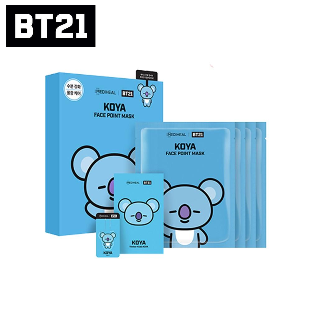 【MEDIHEAL】 BT21 KOYA 重點特強保濕面膜4片/盒