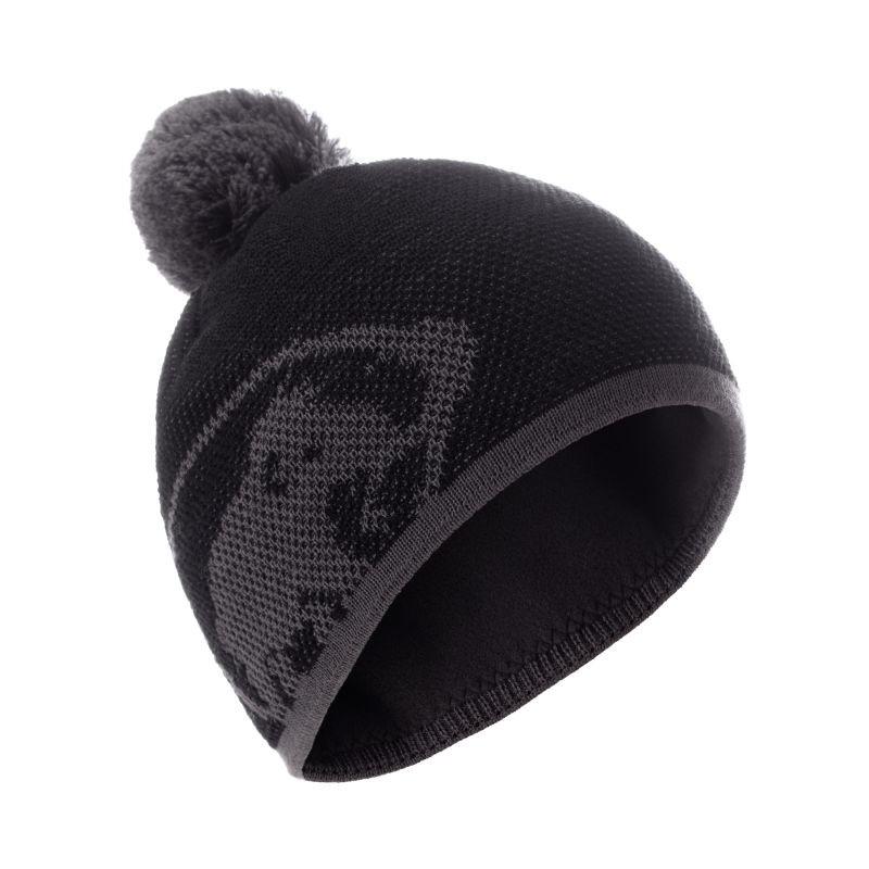 Mammut Snow Beanie 羊毛保暖帽 黑/鈦金灰