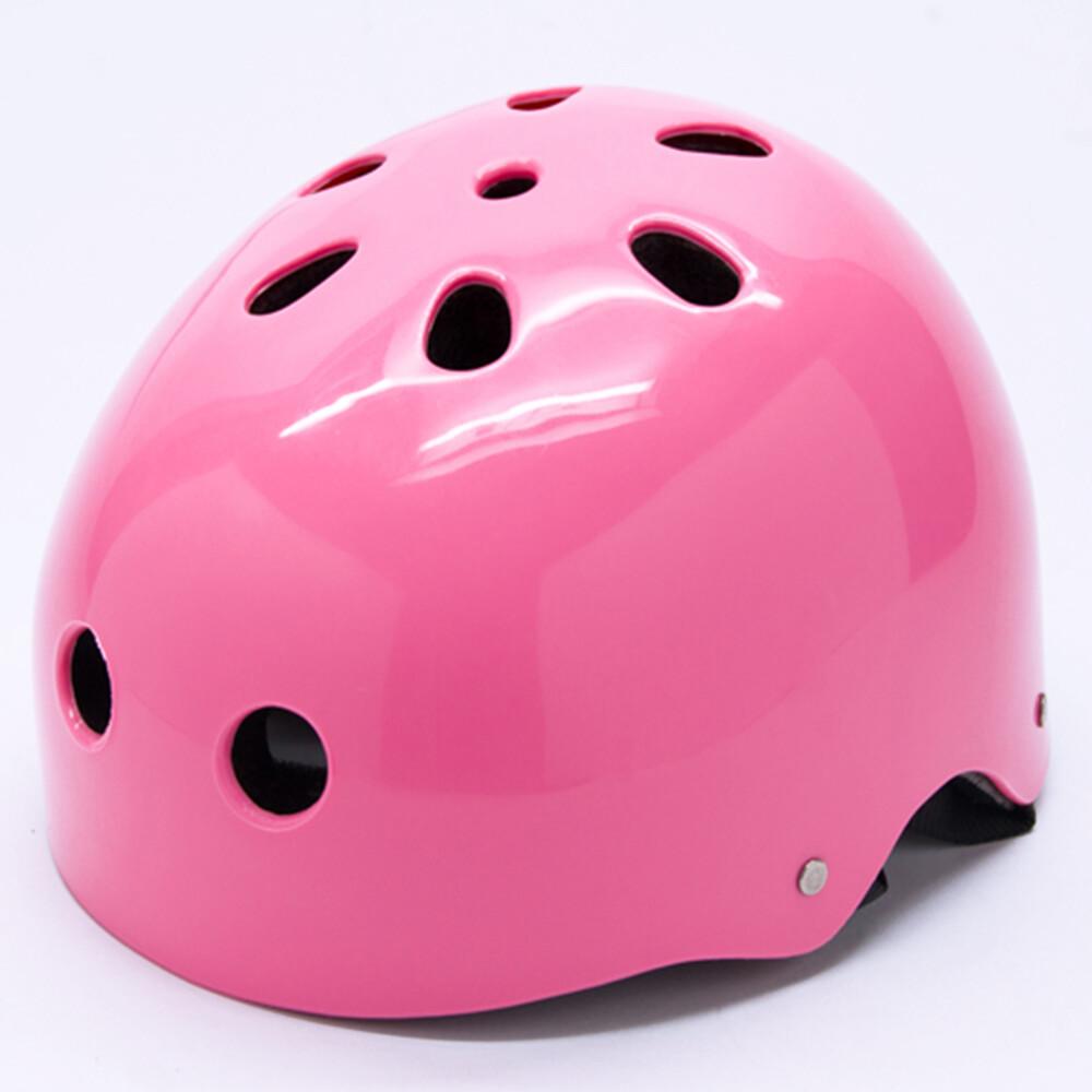 d.l.d多輪多 專業直排輪安全帽 溜冰鞋 自行車 商檢合格安全頭盔--粉紅