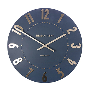Thomas Kent掛鐘 20吋 深夜藍