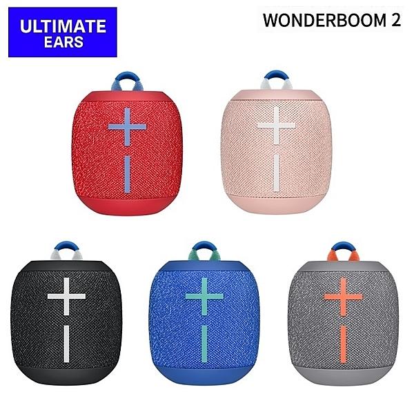 【送精美收納袋】Ultimate Ears UE WONDERBOOM 2 行動防水藍牙喇叭 羅技 公司貨保固2年