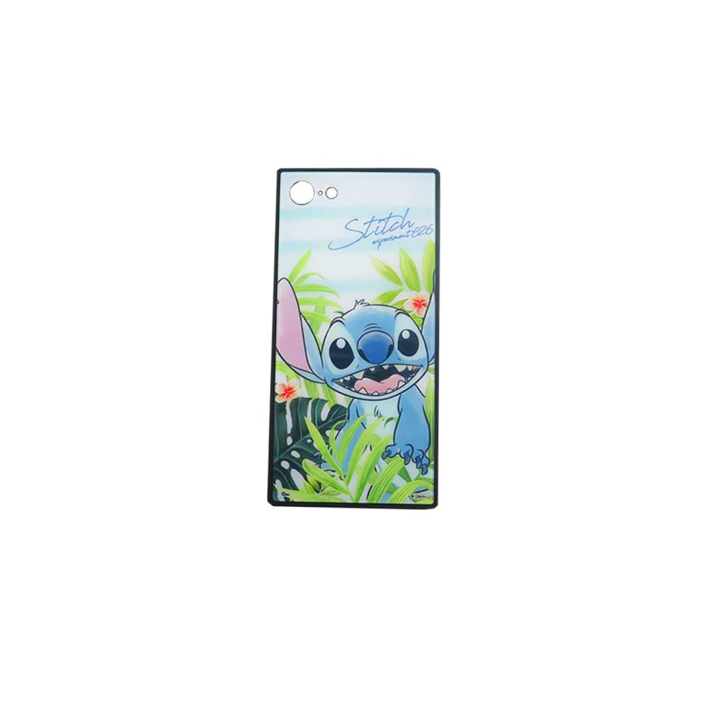 Disney迪士尼iPhone系列史迪奇方型殼_樹葉史迪奇