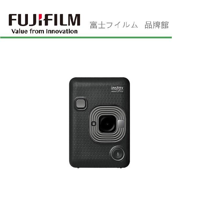 FUJIFILM 富士 拍立得相機 instax mini Liplay 公司貨 能拍能印也能錄音 碳晶灰