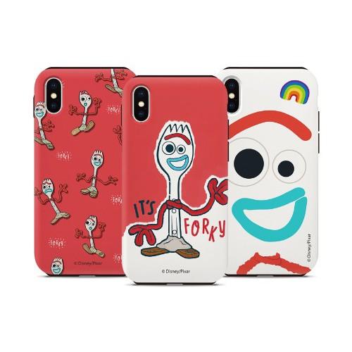 迪士尼 玩具總動員 叉奇 手機殼│雙層殼│硬殼│iPhone X XS│z9320