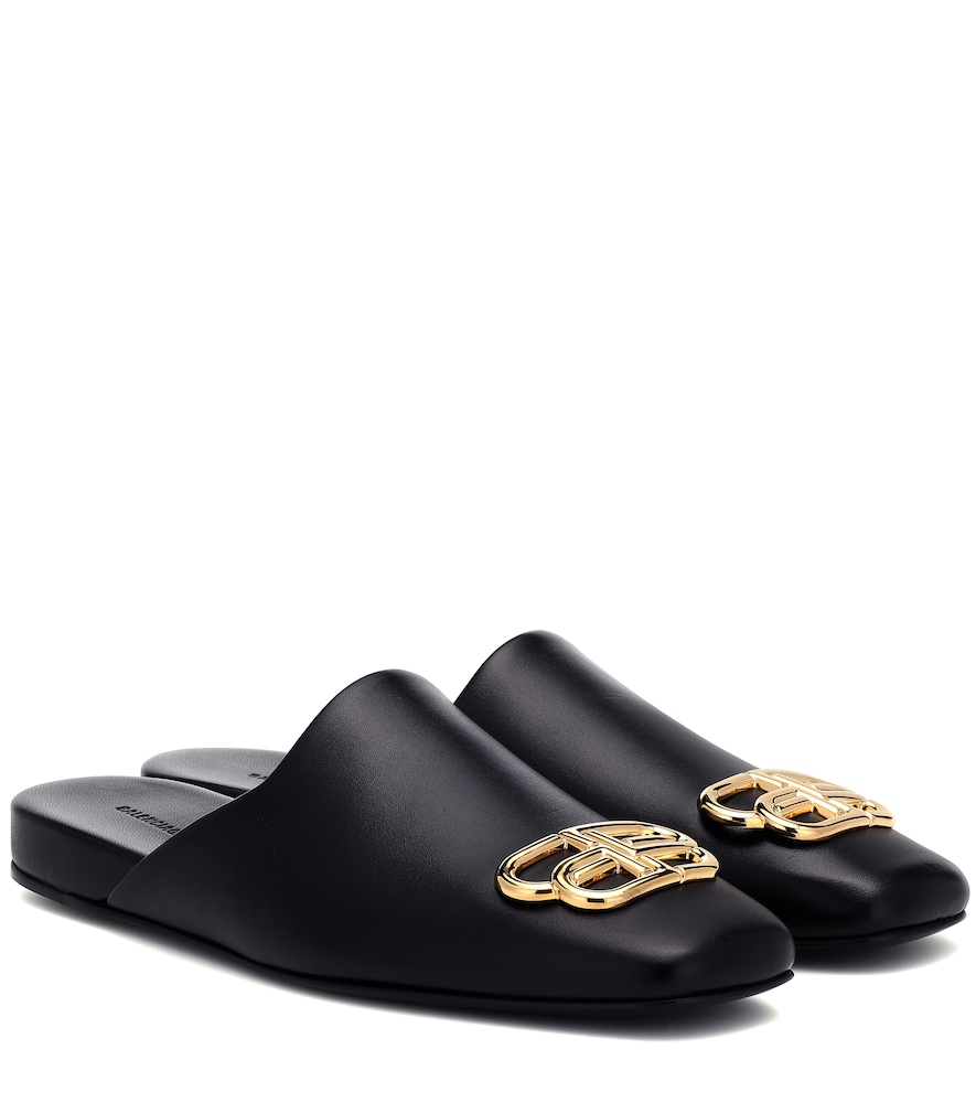 BB Cosy leather mules