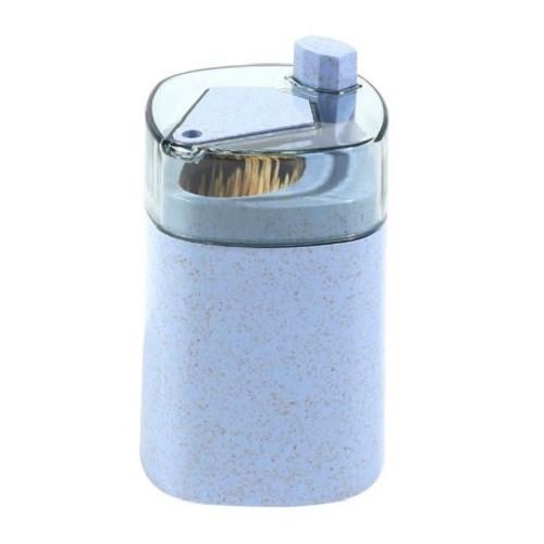 小麥秸稈按壓自動式牙籤筒 牙籤盒 廚房牙籤收納 牙籤筒