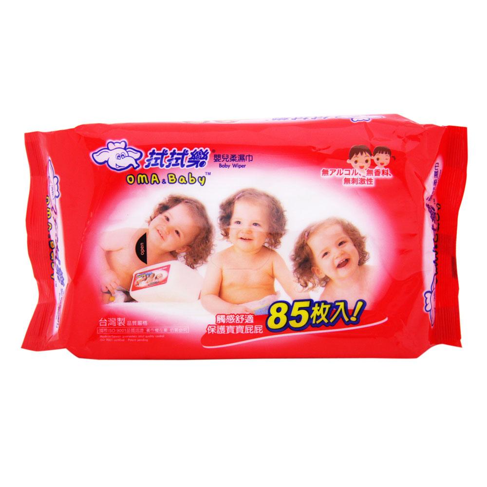 拭拭樂 嬰兒柔濕巾85抽x36包