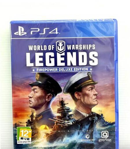 PS4 戰艦世界 傳奇 豪華版 World of Warships Firepower deluxe edition