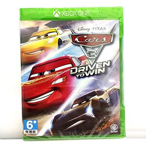 Xbox One 汽車總動員 3 全力取勝  Cars 3 Driven To Win 實體 英文版