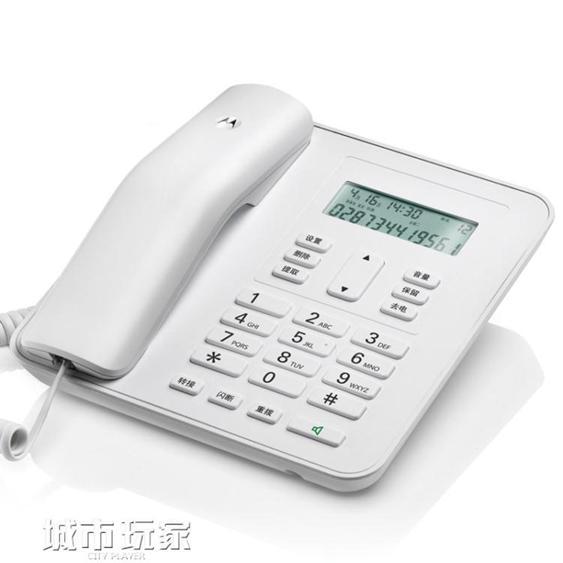 電話機 CT310C固定電話機座機 辦公家用 免電池座式商務有線坐機   夏洛特居家名品