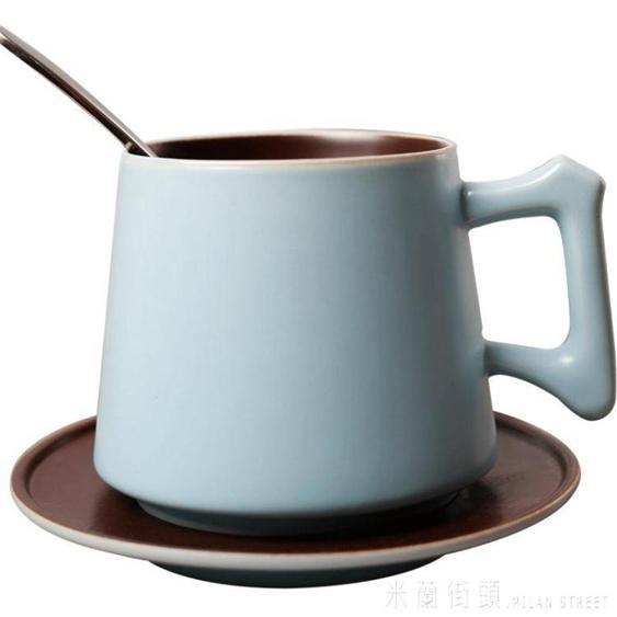 咖啡杯套裝歐式杯子陶瓷杯情侶創意牛奶杯簡約水杯可愛馬克杯家用