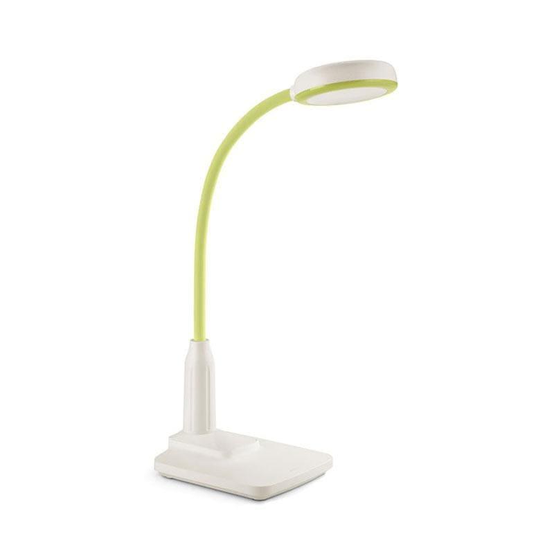 晶旭可充電式座夾兩用LED檯燈-亮綠 (66024)