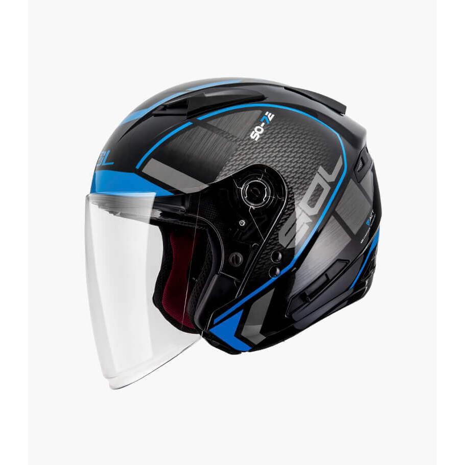 SOL SO-7E 幻影 安全帽 黑藍