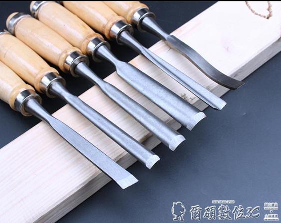 雕刻刀俊拓木雕12件套工具雕花鑿/根雕/雕刻刀/鑿子木雕刻刀木工鑿車刀LX