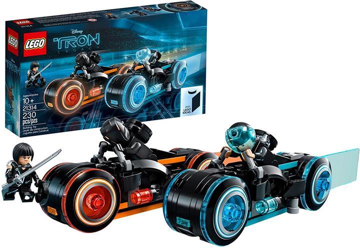 LEGO 樂高 Ideas TRON:Legacy 21314玩具 電影(230件)