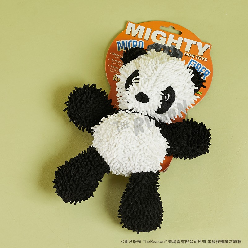 寵物玩具︱美國 MIGHTY【熊貓胖達】發聲玩具 狗狗玩具 樂瑞森 /