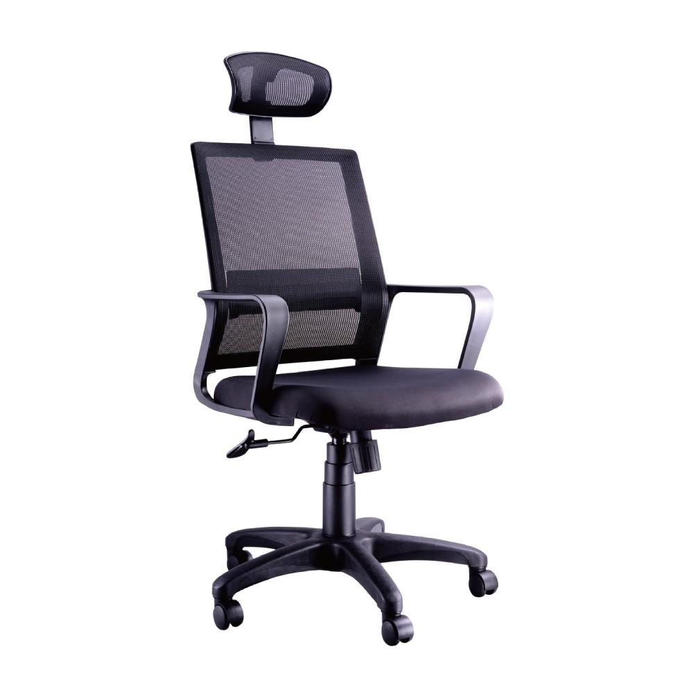 韓菲-達爾文頭枕氣壓式辦公椅DIY-58x54x114~123cm(三色可選)