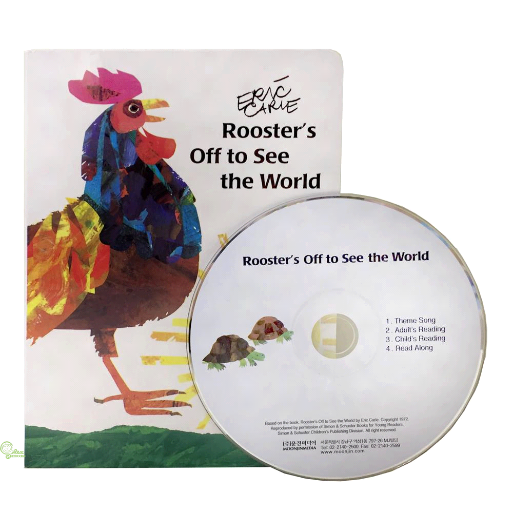 Rooster's off to See the World (with audio CD)【禮筑外文書店】[85折]