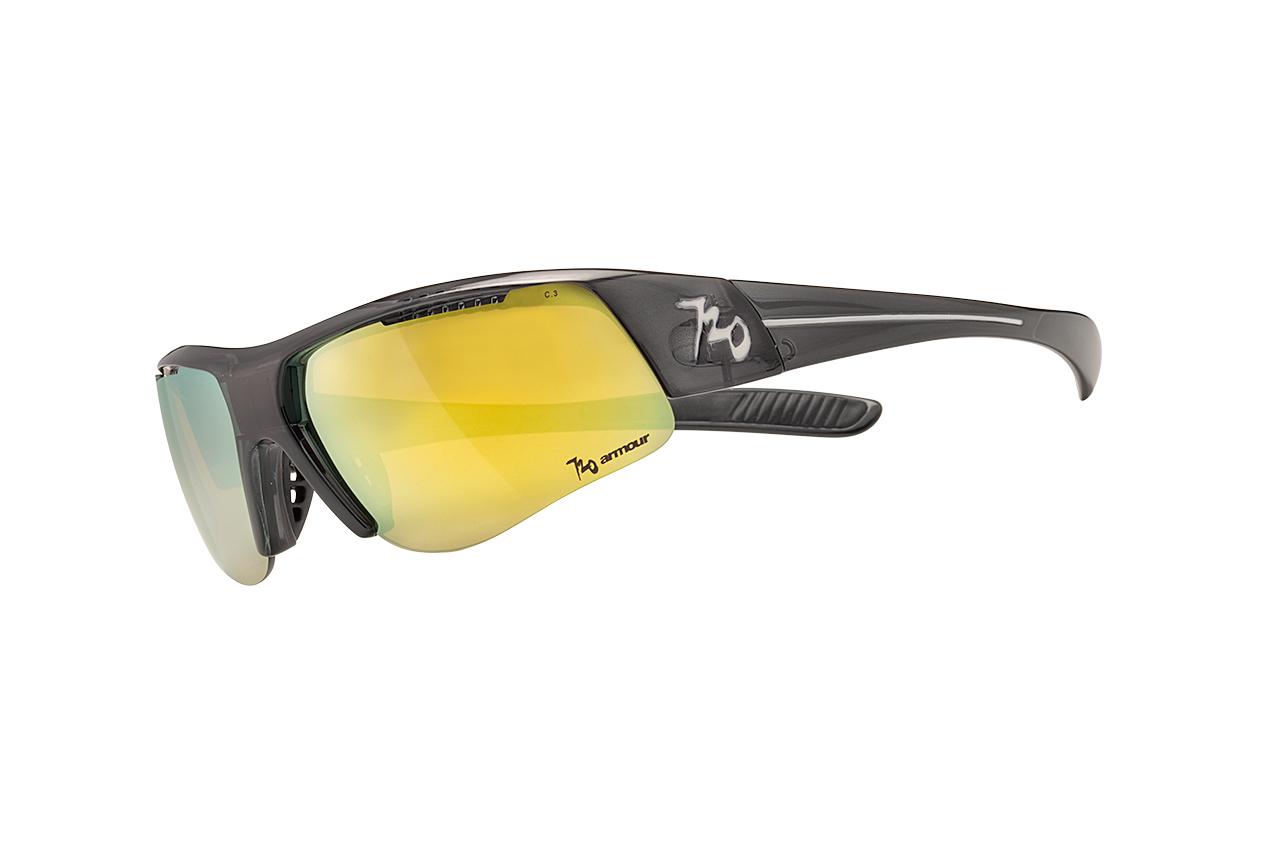 【【蘋果戶外】】720armour B335B3-9 亮澤透明黑 茶黃鍍膜 Form 飛磁換片 自行車眼鏡 風鏡 運動眼鏡 防風眼鏡 運動太陽眼鏡