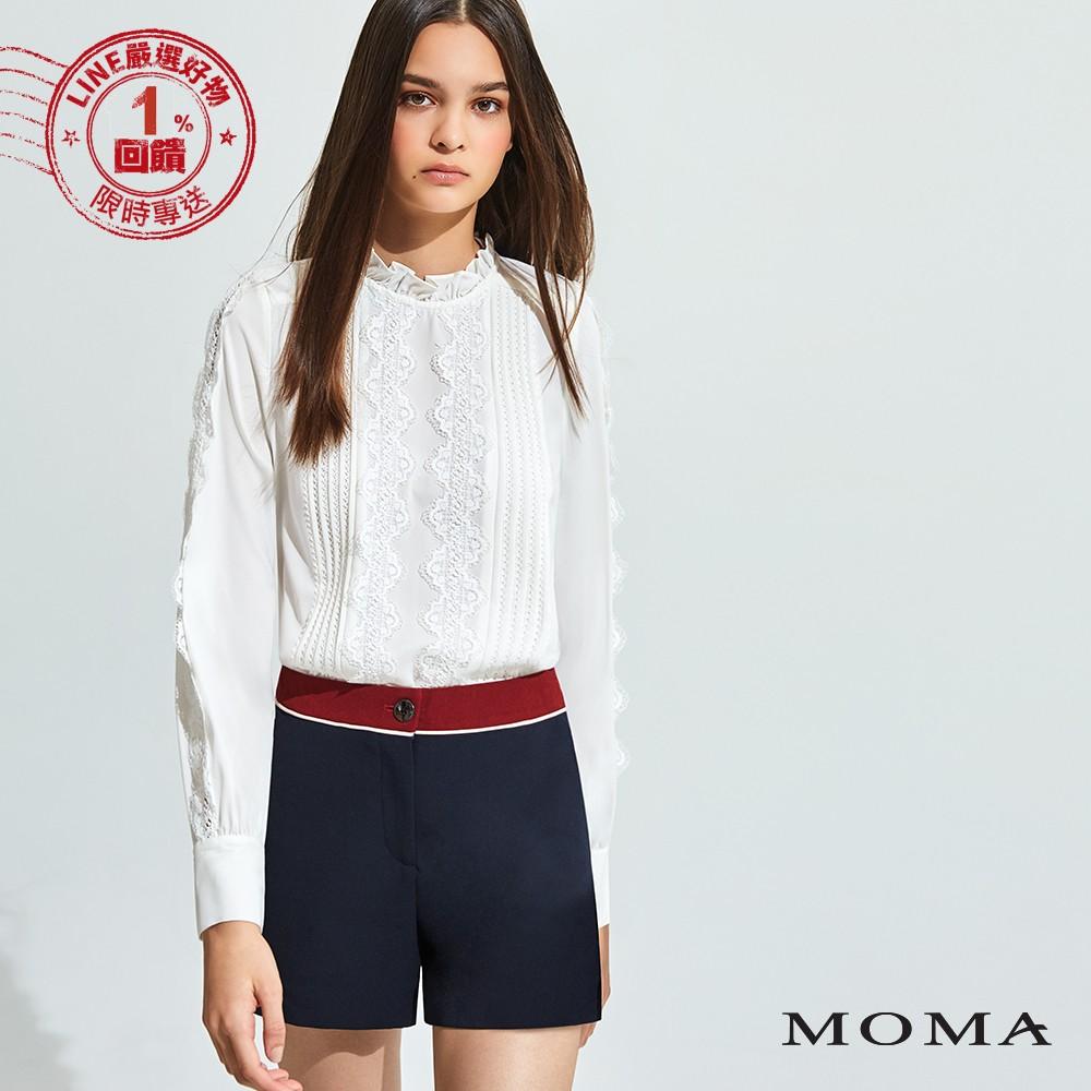 MOMA(92P064)撞色都會短褲