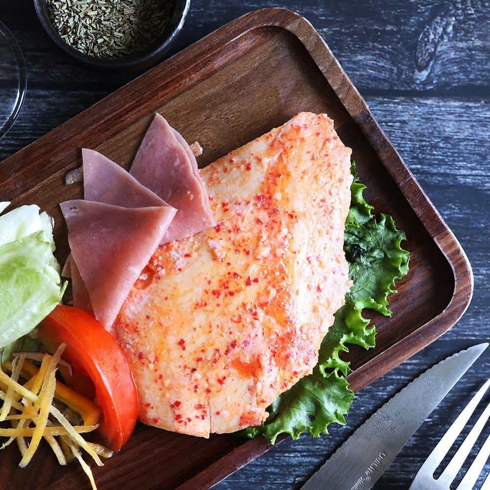 任選 [優鮮配] 低溫即食舒肥雞胸肉(韓式泡菜口味 約110g/包)