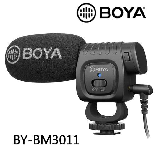 BOYA 博雅 BY-BM3011 專業級機頂麥克風 立福公司貨