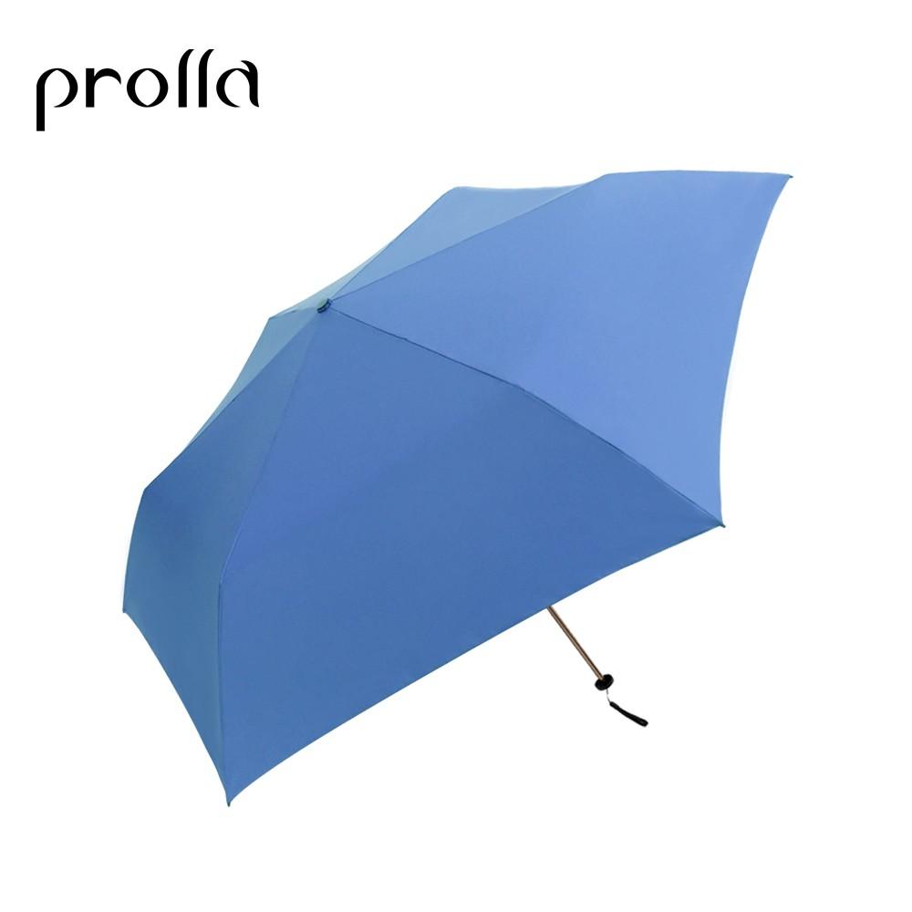 Prolla 超迷你斜紋布系列   晴雨兩用傘   金屬漆防曬裏加工   防曬傘 折傘