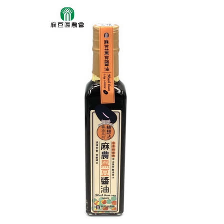 【麻豆區農會】麻農黑豆醬油230毫升/瓶(任選)