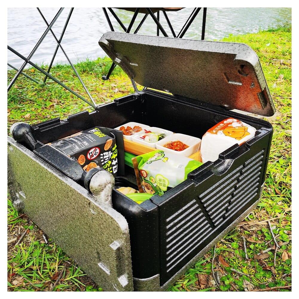 折疊戶外野餐24L小容量車載冰箱(中號)