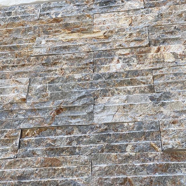 彩岩 拉溝面 (石材 建材 牆面材料 DIY 景觀)