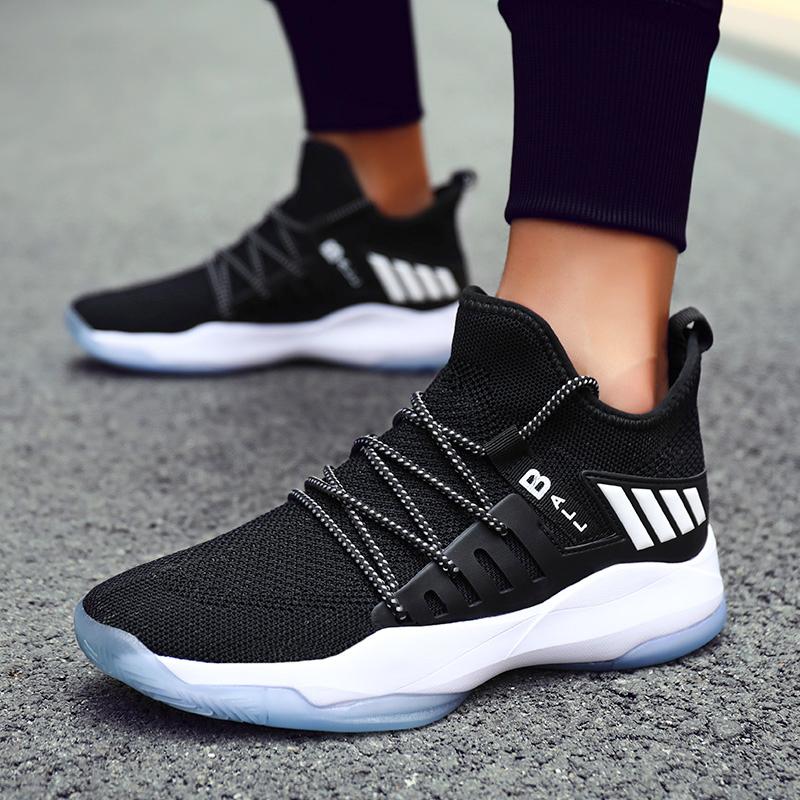籃球鞋男鞋2020夏季新款耐磨透氣運動鞋男實戰高幫球鞋男NBA戰靴9